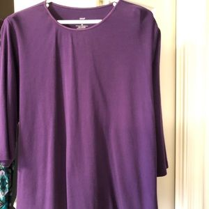 Women's CJ Banks Cotton Shirt Size 2X